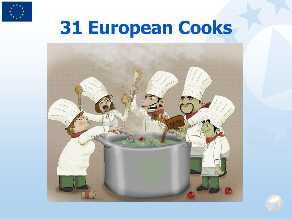 31 European Cooks