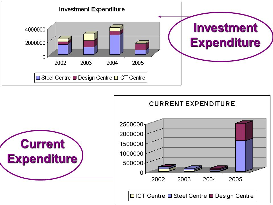 Investment Expenditure Current Expenditure