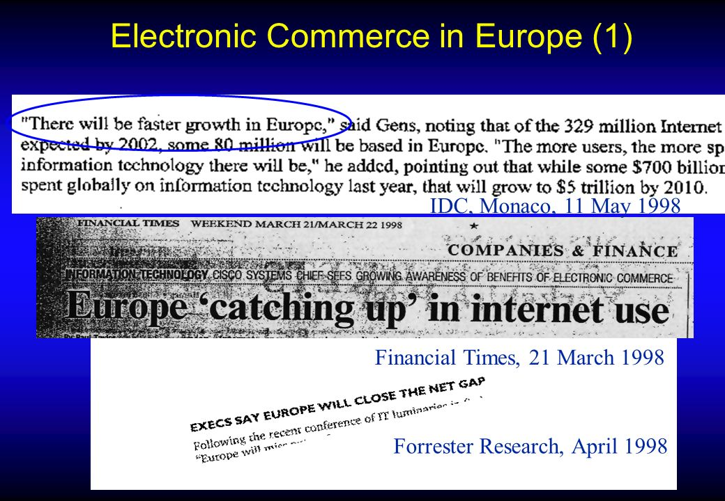 European Commission Information Society DG Paradigms Change in Intangibles/Digital Content High Flexibility Low Flexibility Low High DIGITAL CONTENT PRODUCTION/DELIVERY CAPACITY 1a Music/Software Industry 2a Personalisation; Copyright Management 1b Information Industry 2b Copyright Mgt; Intelligent Interaction