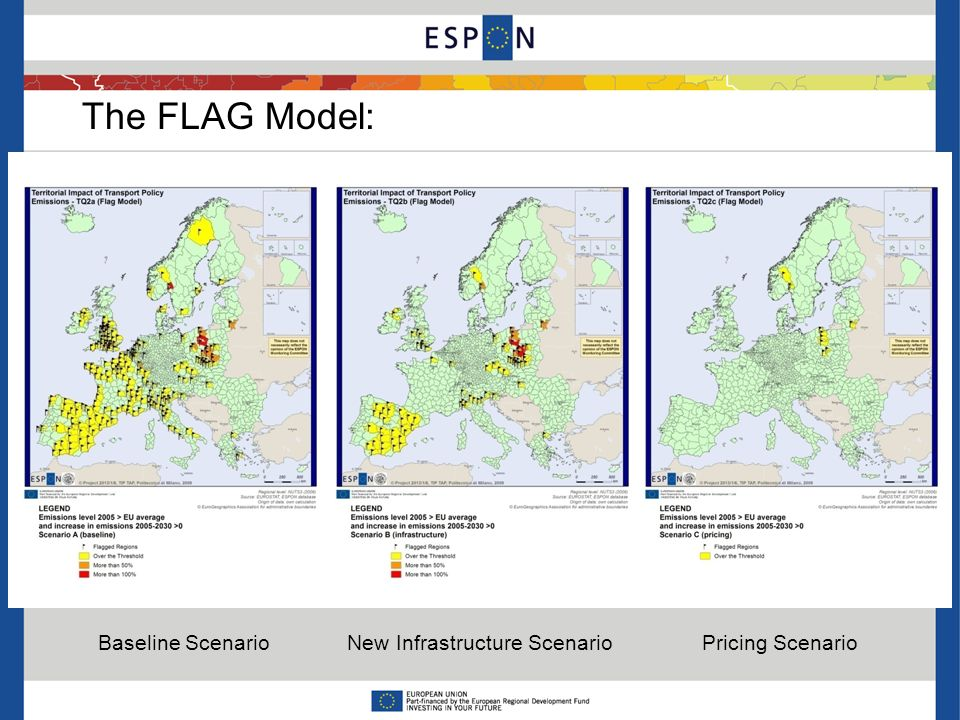 The FLAG Model: Baseline Scenario New Infrastructure Scenario Pricing Scenario