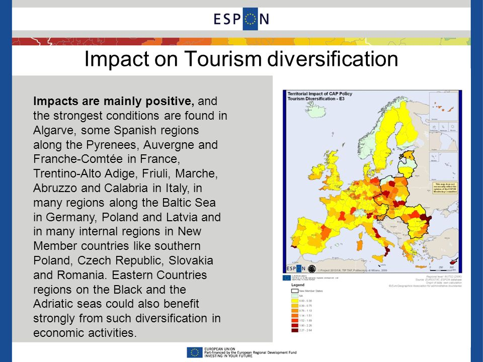Impact on Environmental Quality Positive outcomes are mainly visible in southern and western European regions, with strong country effects due to the national management of funds allocation among axes of Pillar 2.
