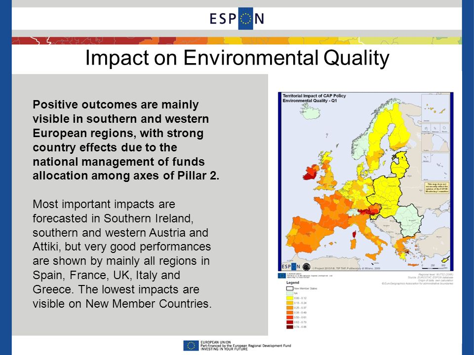 Impact on Territorial Efficiency Experts weights Policy makers weights Different weighting systems may change Summative Impacts