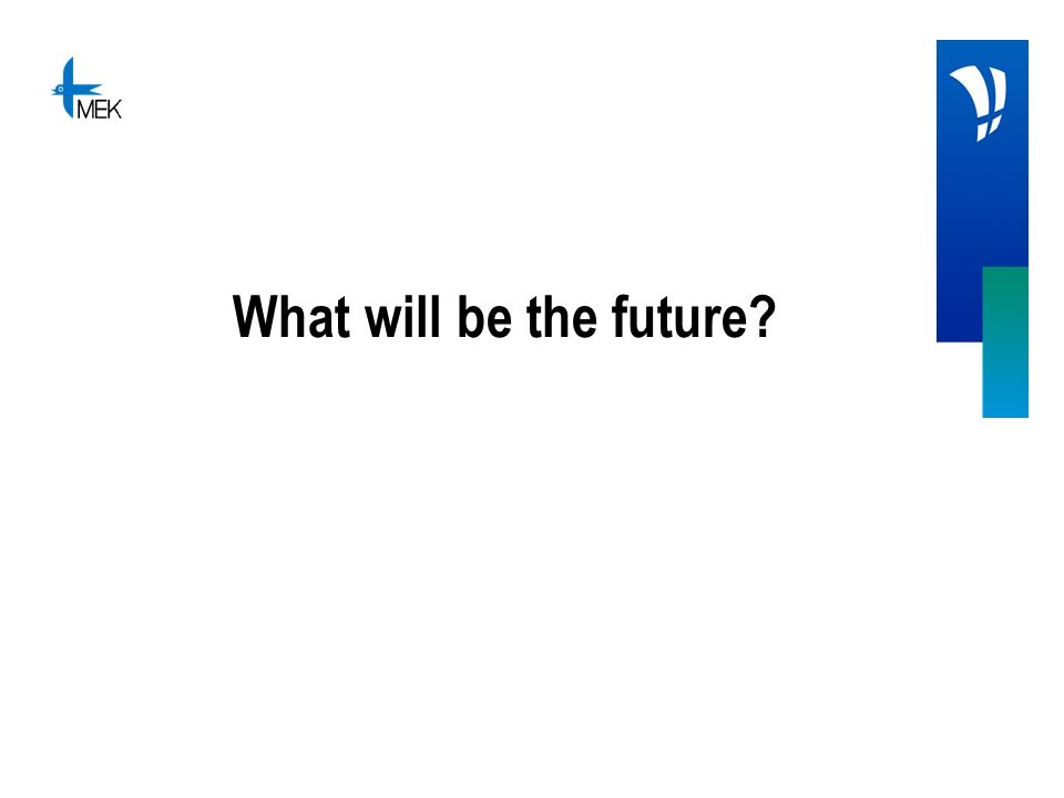What will be the future?