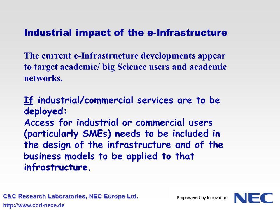 C&C Research Laboratories, NEC Europe Ltd.