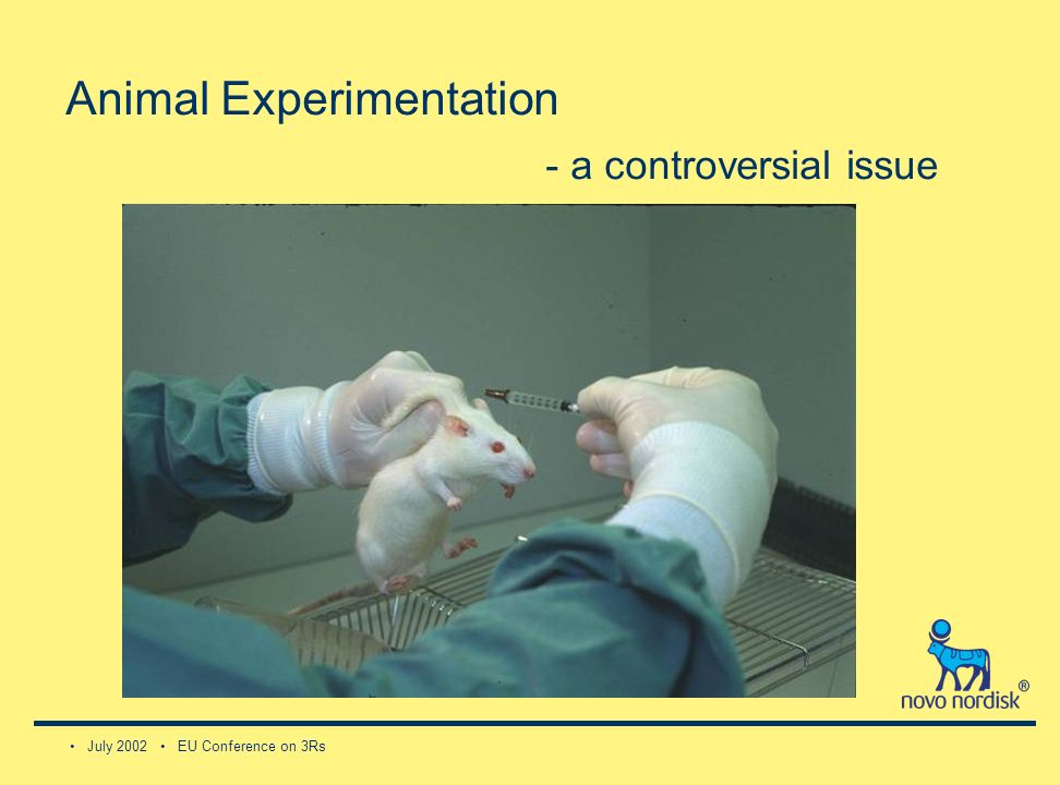 July 2002 EU Conference on 3Rs Animal Experimentation - a controversial issue