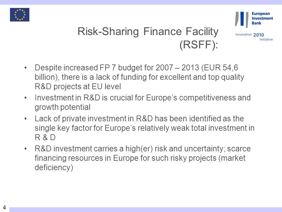 25 RSFF contact points European Commission, DG RTD Directorate B – « European Research Area: Research programmes and capacities » Unit B.04 – « Regions of Knowledge and Research Potential » –RSFF Sector Jean-David MALO, Head of Unit, (02 299 38 42) Martin KOCH Marie-Cécile ROUILLON