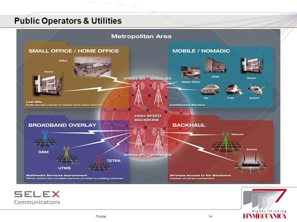 Footer14 Public Operators & Utilities