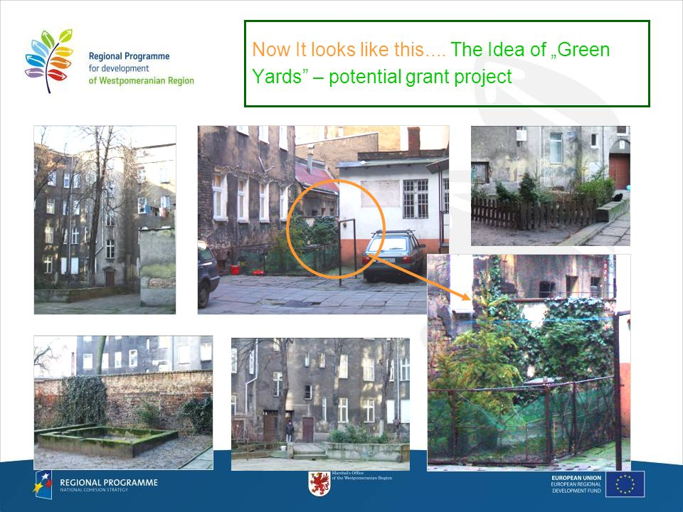 Now It looks like this.... The Idea of Green Yards – potential grant project