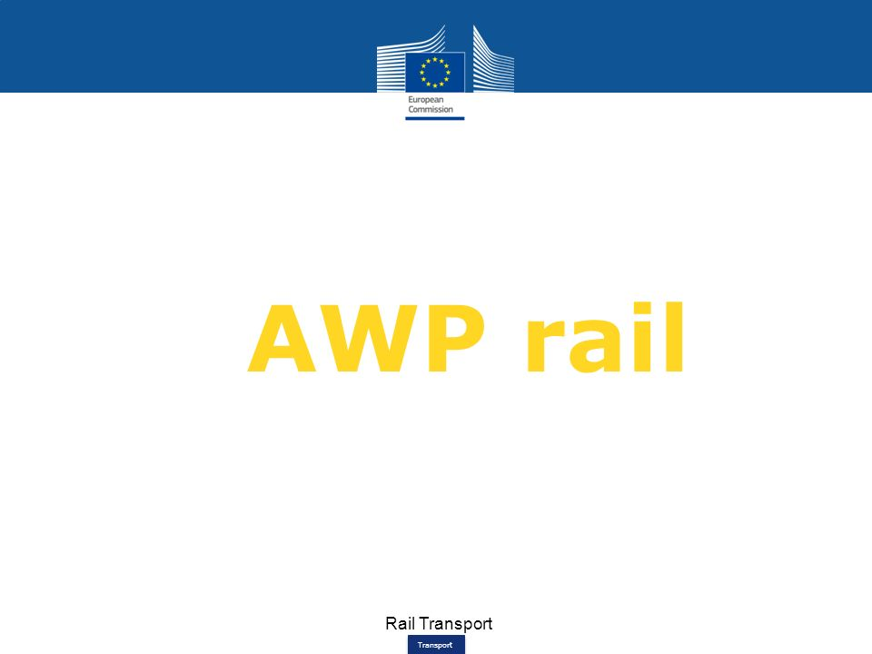 Transport Rail Transport AWP rail