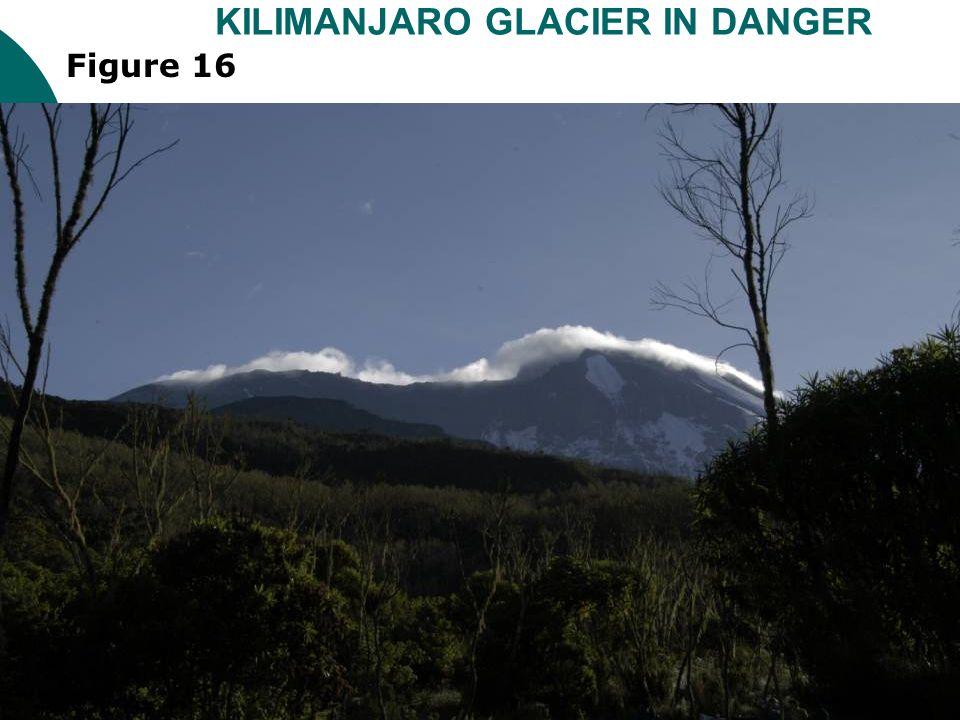 KILIMANJARO GLACIER IN DANGER Figure 16