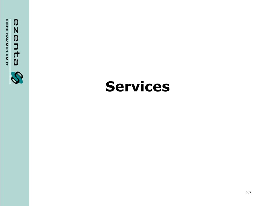 25 Services