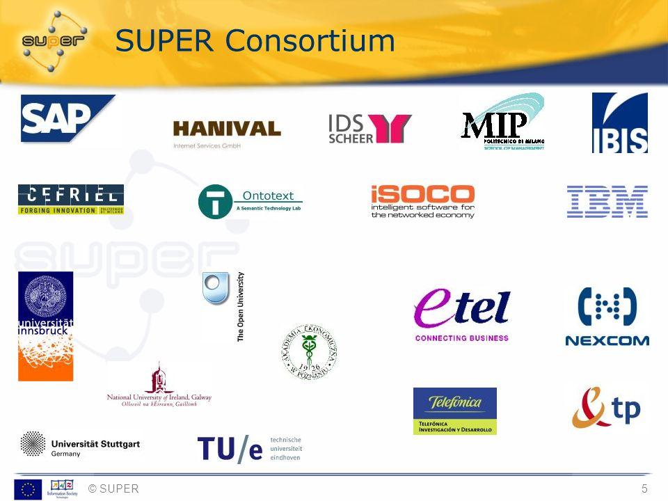 © SUPER5 SUPER Consortium