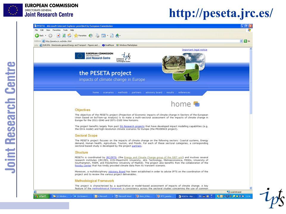 http://peseta.jrc.es/