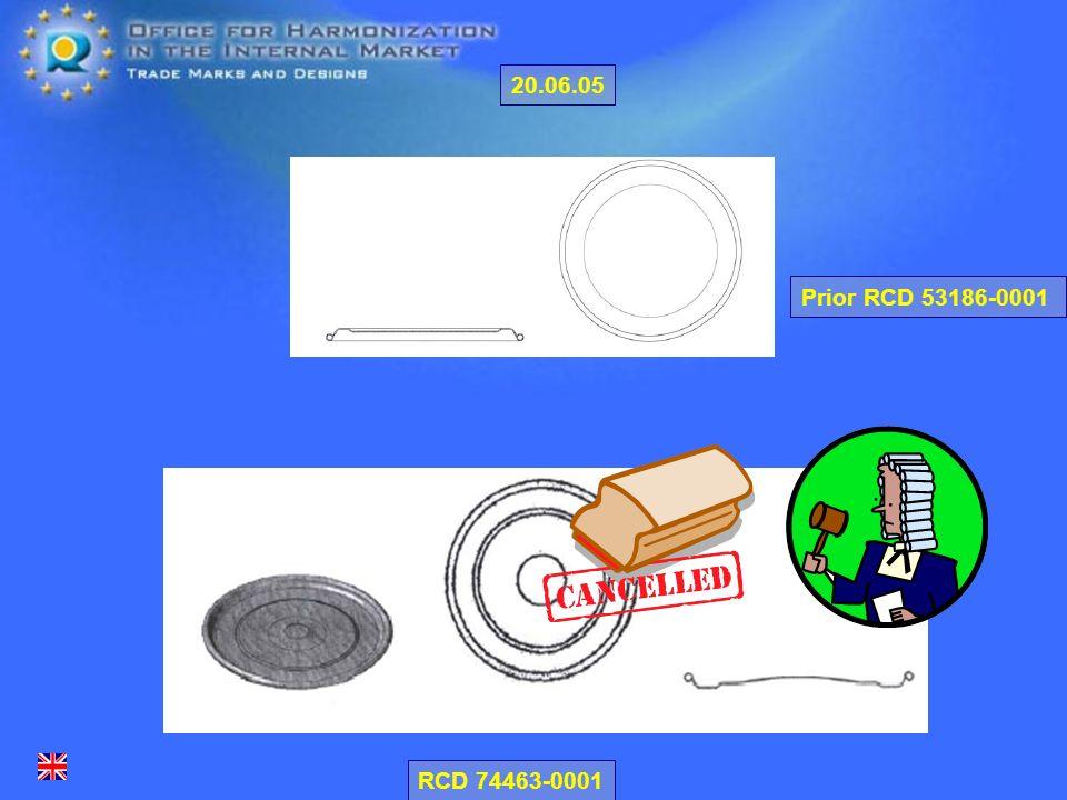RCD 74463-0001 Prior RCD 53186-0001 20.06.05