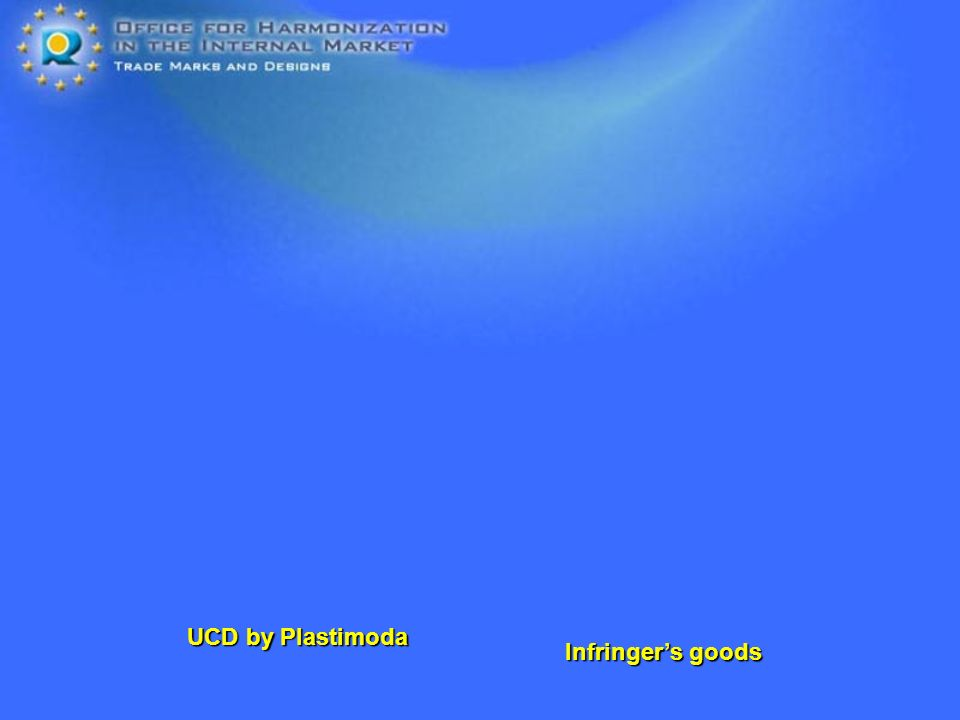 Infringers goods UCD by Plastimoda