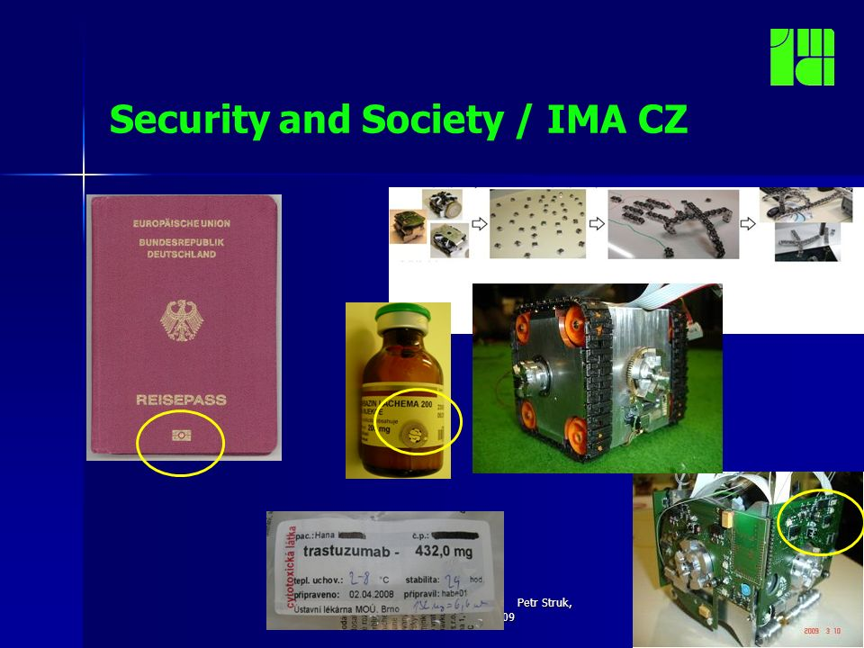 Security INFO Day, Brussles Petr Struk, September 16, 2009 Security and Society / IMA CZ Things are different