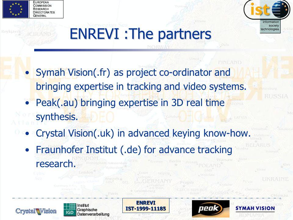 ENREVIIST-1999-11185 Status on low cost rendering options (Peak+SV)