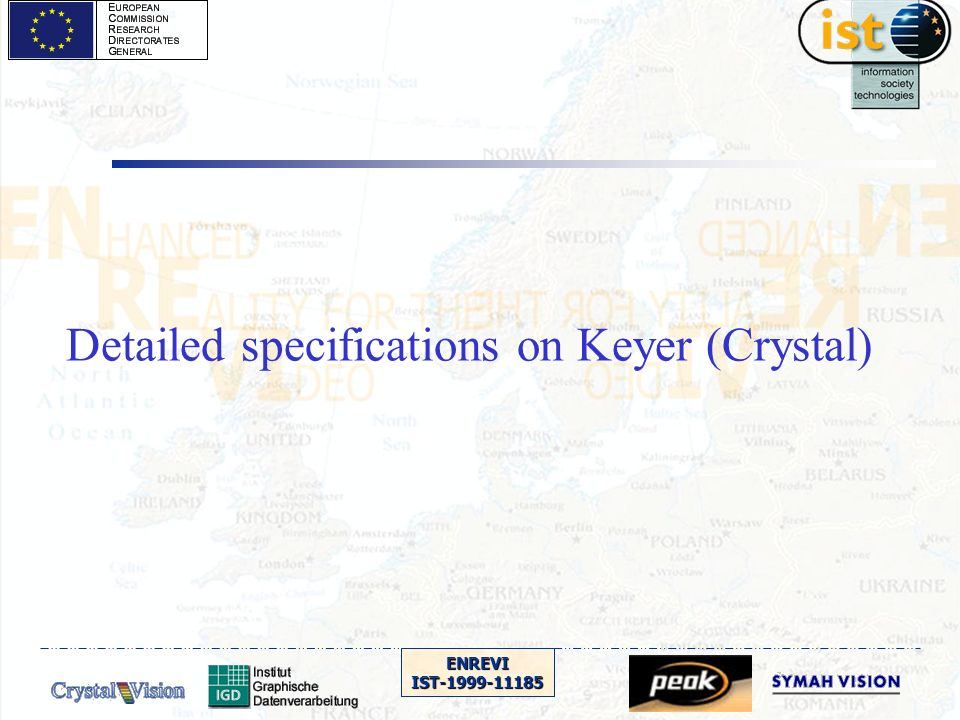 ENREVIIST-1999-11185 Detailed specifications on Keyer (Crystal)