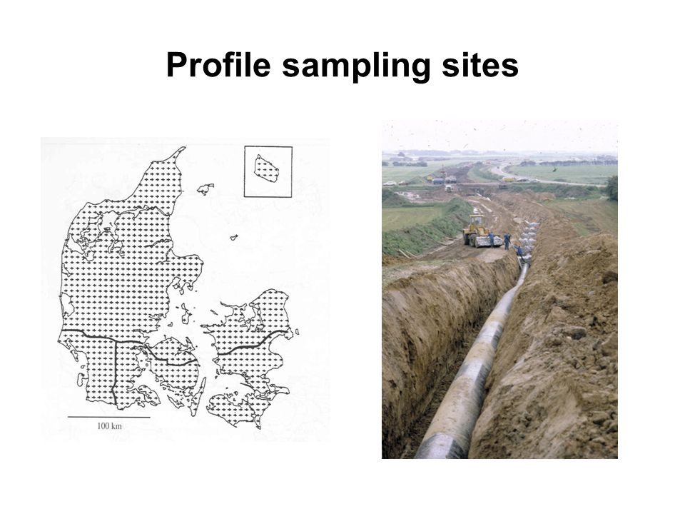 Profile sampling sites