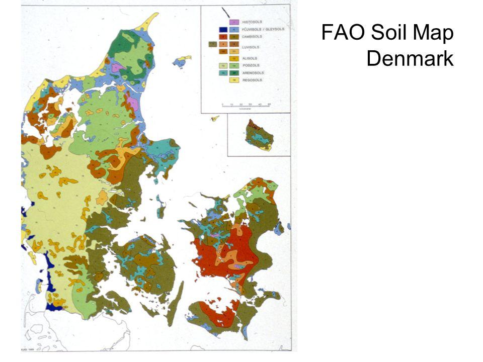 FAO Soil Map Denmark