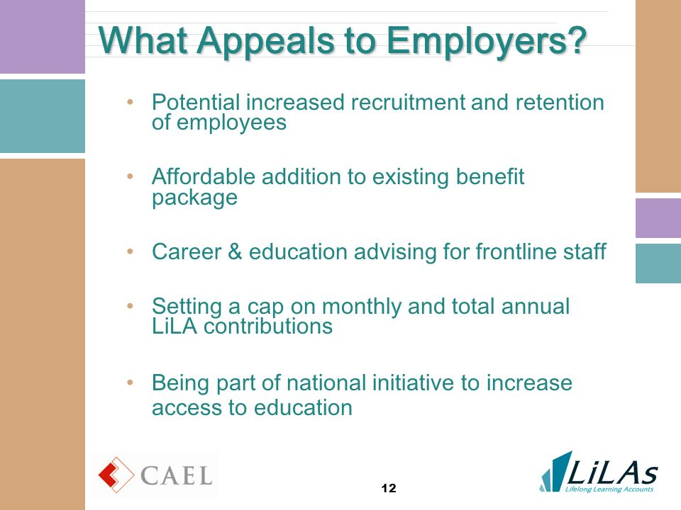 12 What Appeals to Employers.