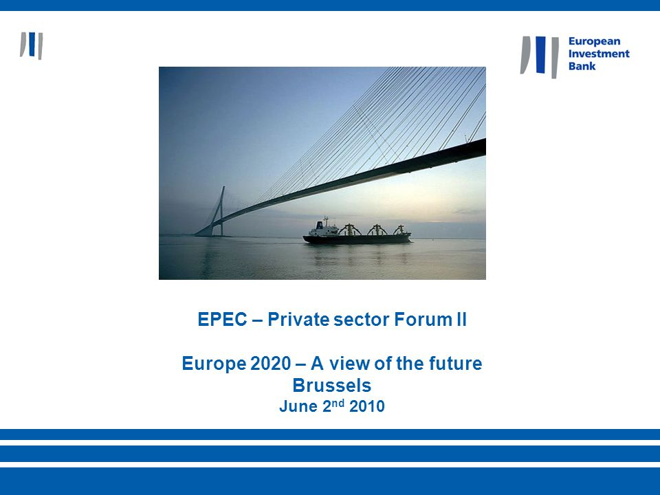 2 nd of June 201022 European Investment Bank In order to reach a larger pool of candidate projects, EIB/EC consider that broadening the scope of LGTT to availability-based schemes is worth examination.