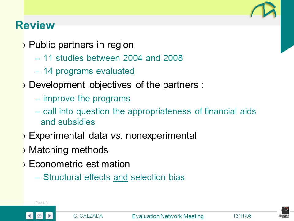Page 3 Evaluation Network Meeting C.