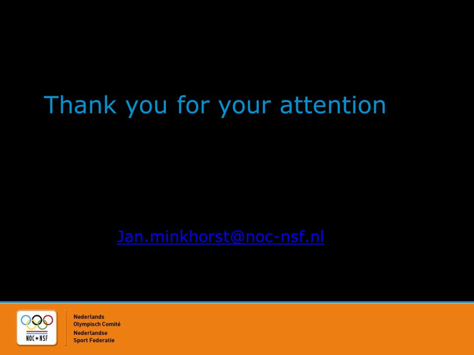 Thank you for your attention Jan.minkhorst@noc-nsf.nl