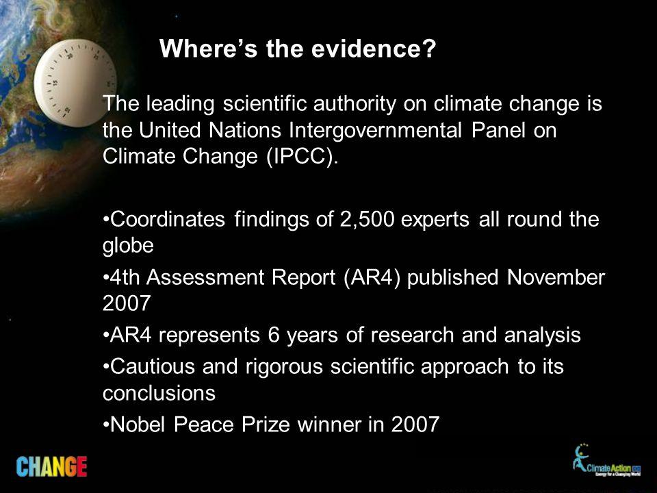 Wheres the evidence.