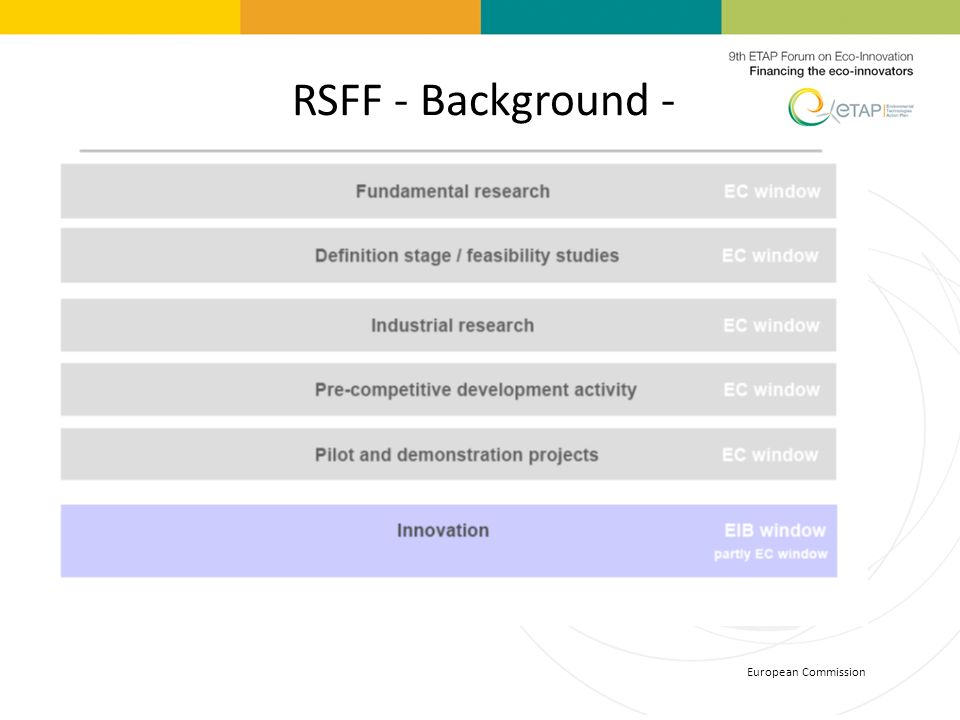 RSFF - Background - European Commission