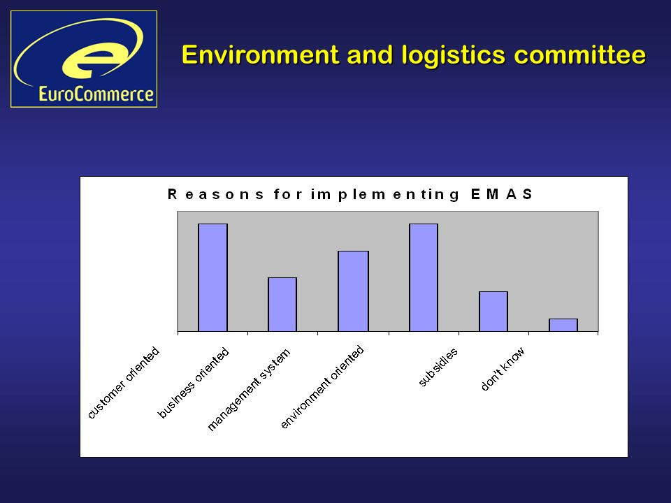 Environment and logistics committee