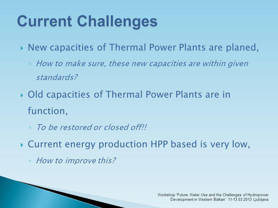 New capacities of Thermal Power Plants are planed, How to make sure, these new capacities are within given standards? Old capacities of Thermal Power