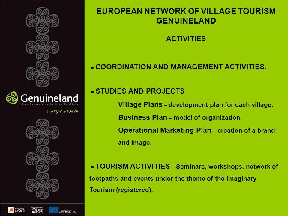 COORDINATION AND MANAGEMENT ACTIVITIES.