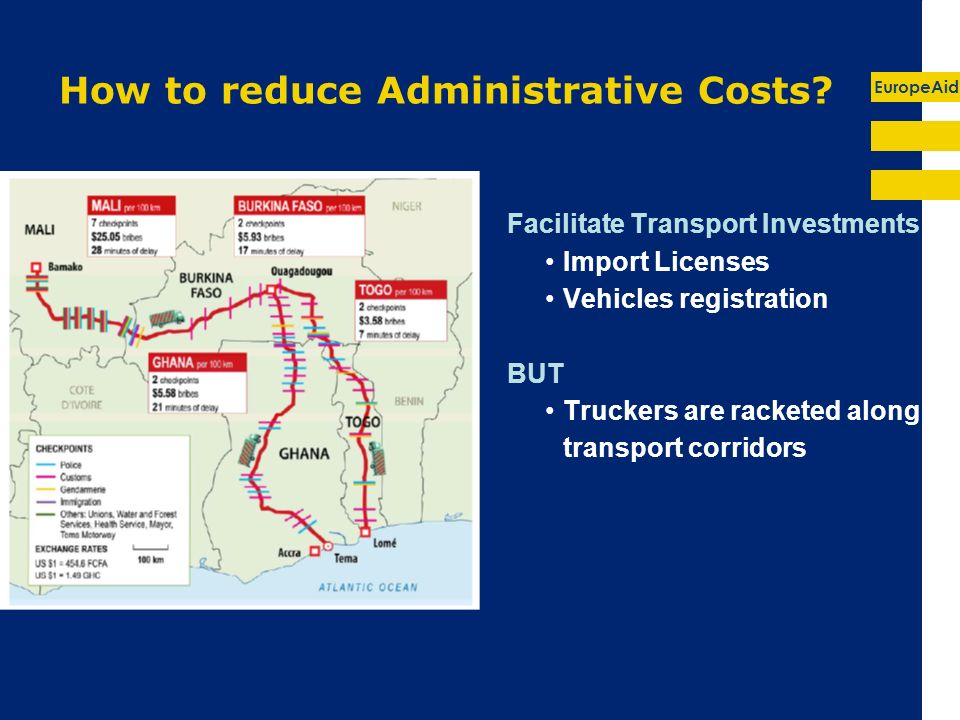 EuropeAid How to reduce Administrative Costs.
