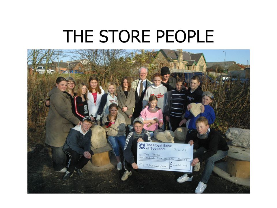 THE STORE PEOPLE