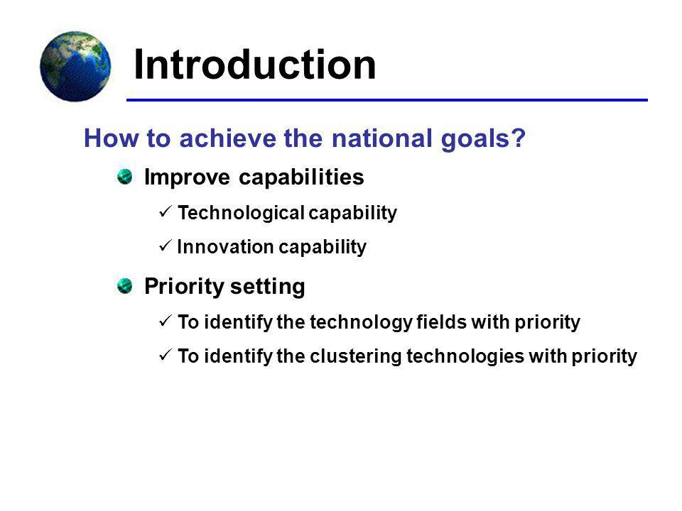 Introduction How to achieve the national goals.