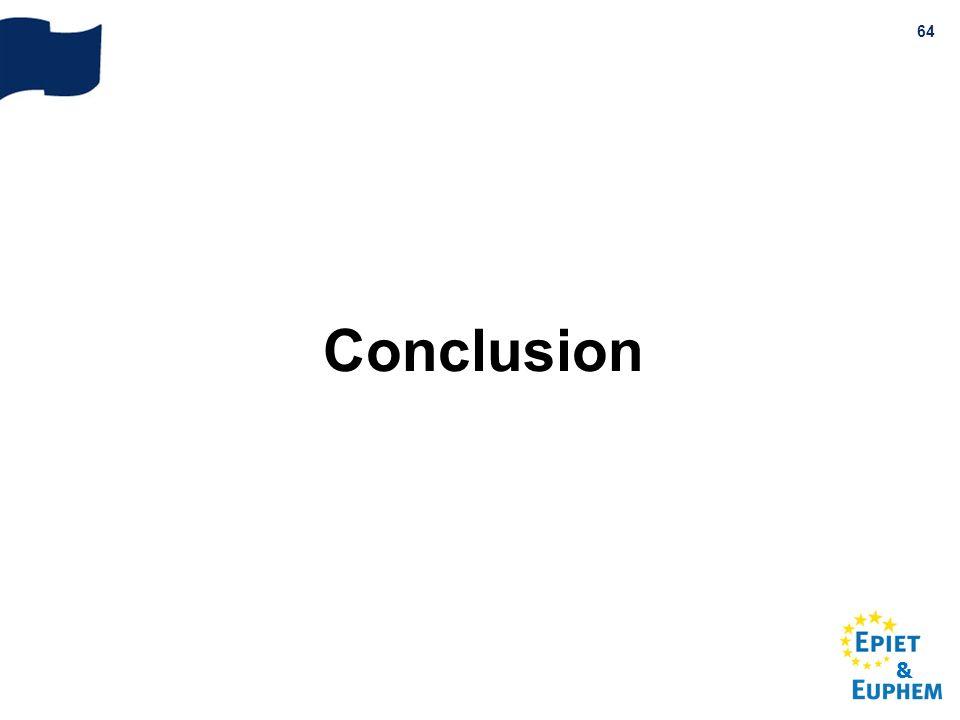 & 64 Conclusion