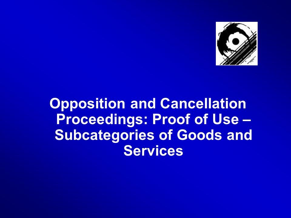 32 Sub-categories How to establish sub-categories.