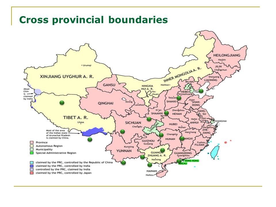 16.02.2014 Cross provincial boundaries