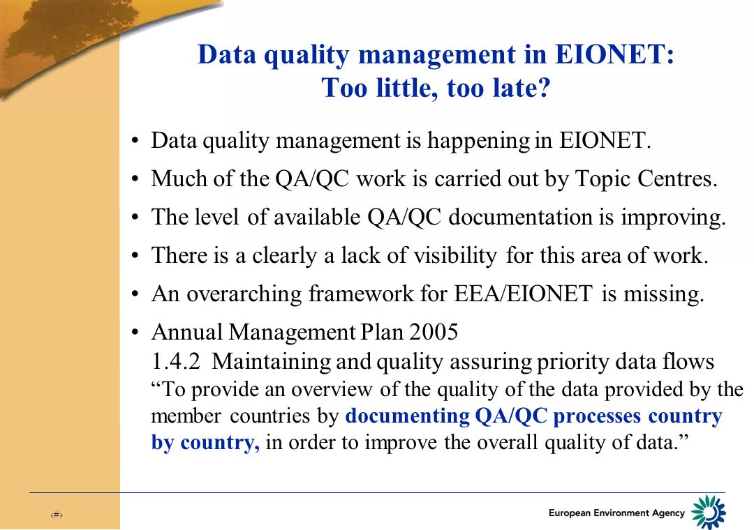 4 What is data quality.