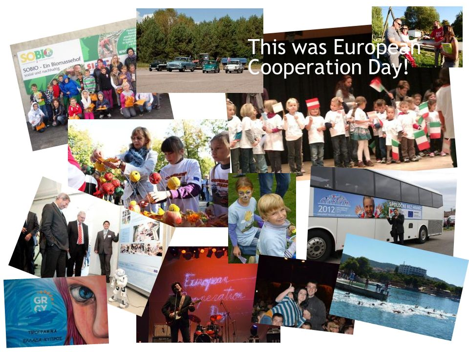 This was European Cooperation Day!