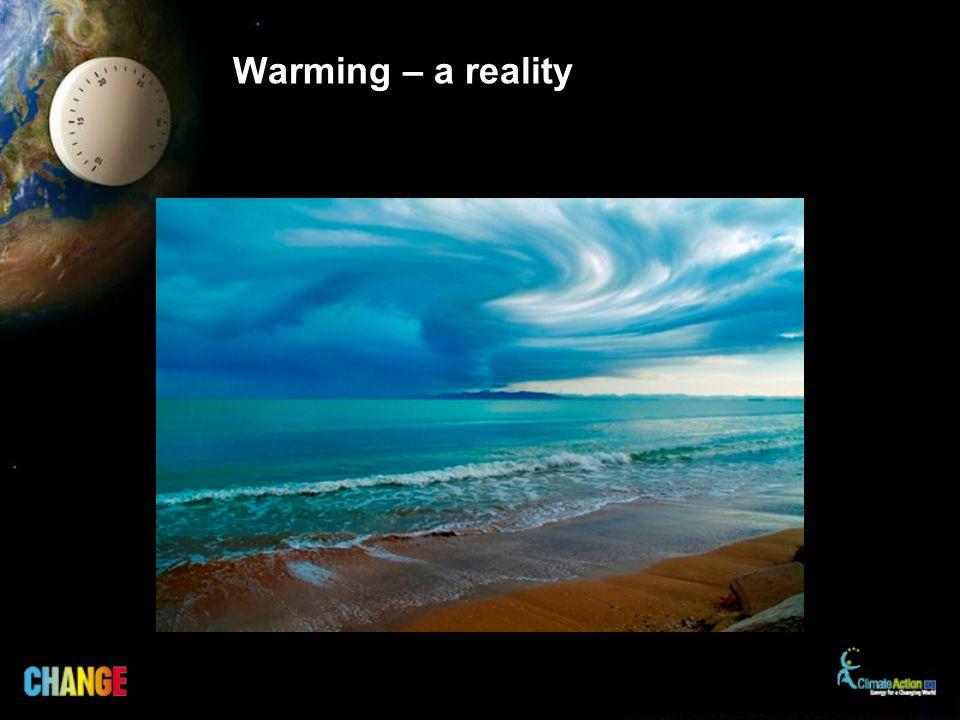 Warming – a reality
