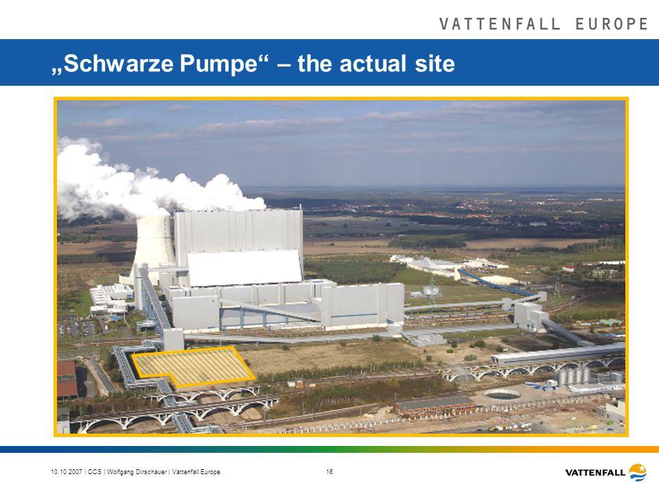 10.10.2007 | CCS | Wolfgang Dirschauer | Vattenfall Europe 16 Schwarze Pumpe – the actual site