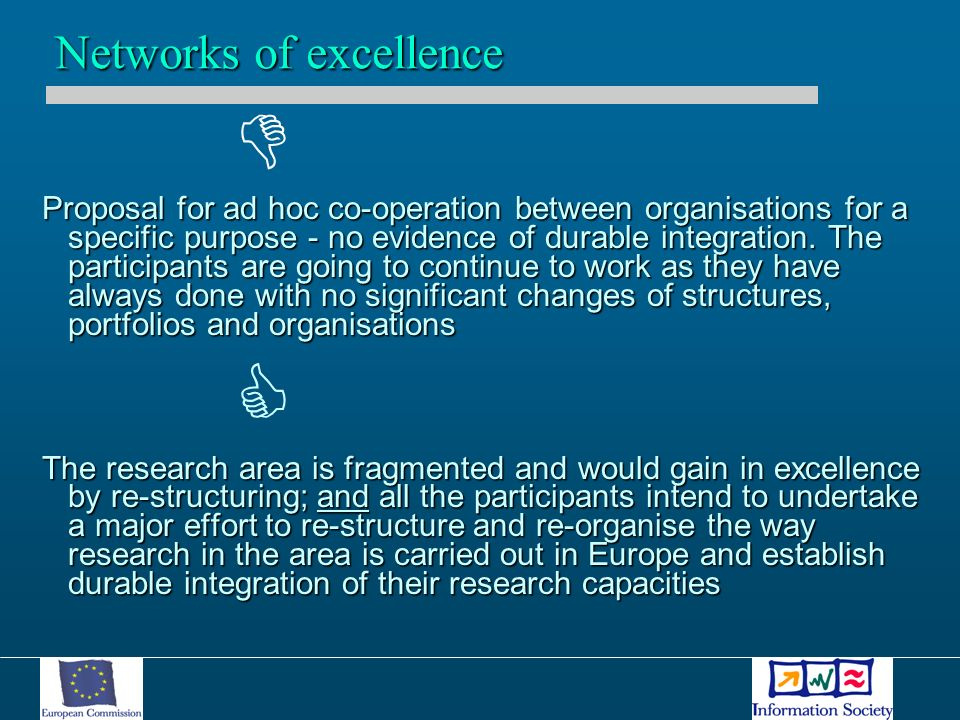 Proposal for ad hoc co-operation between organisations for a specific purpose - no evidence of durable integration.
