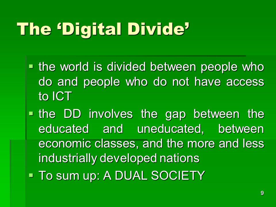 8 Part I The Digital Divide
