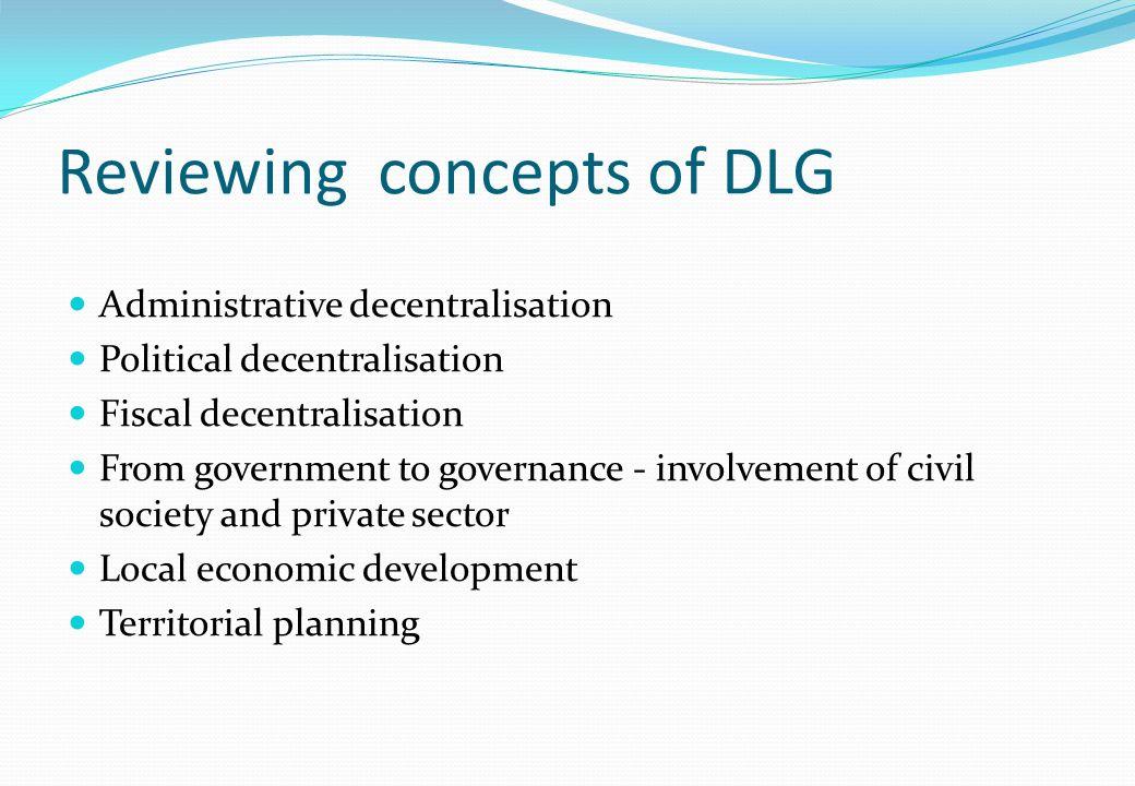 Decentralisation as an open system – SGP2