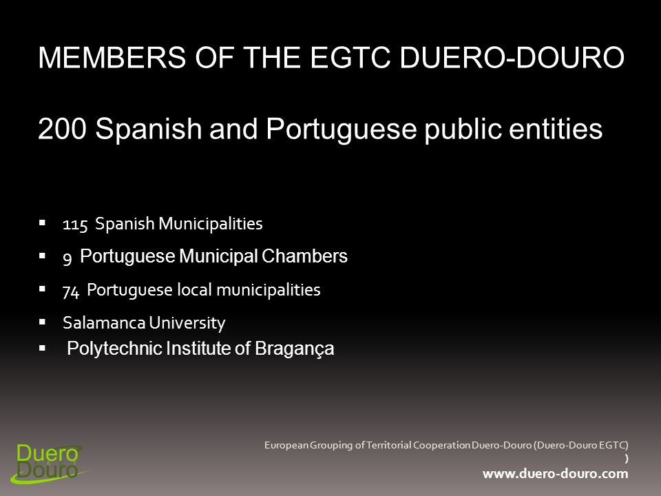 97% of the population of the Duero-Douro Territory, claimed not to know any cooperation project funded by Europe and developed in their territory.