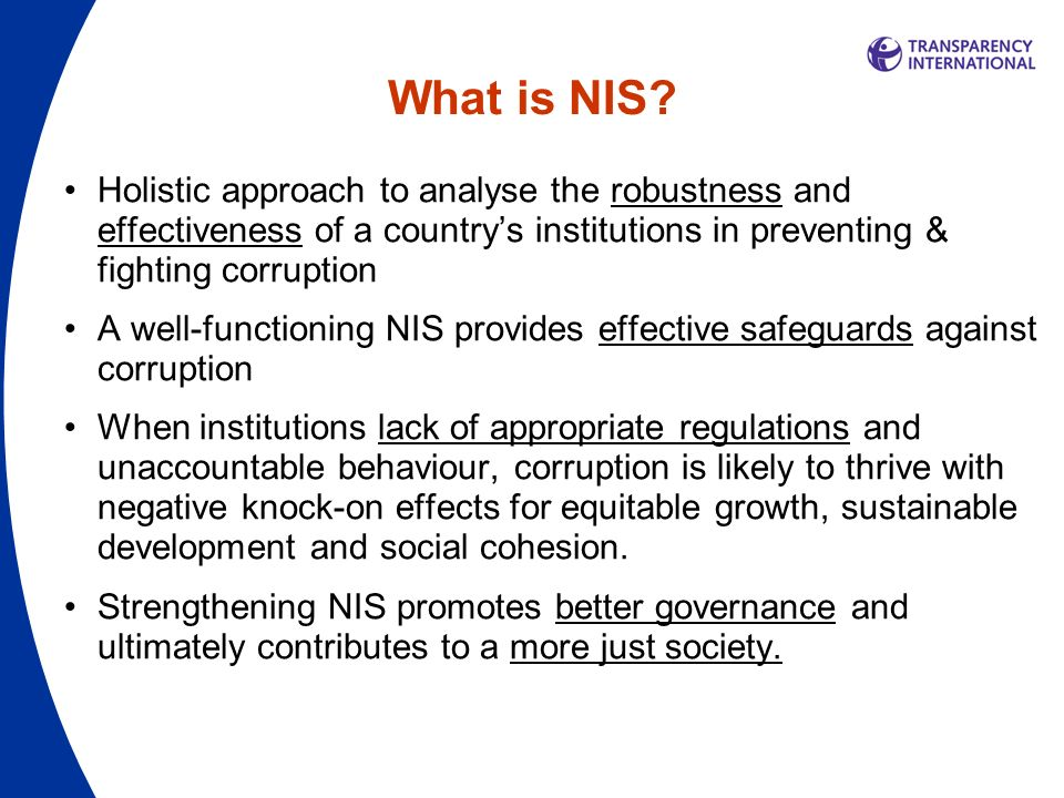 What is NIS.