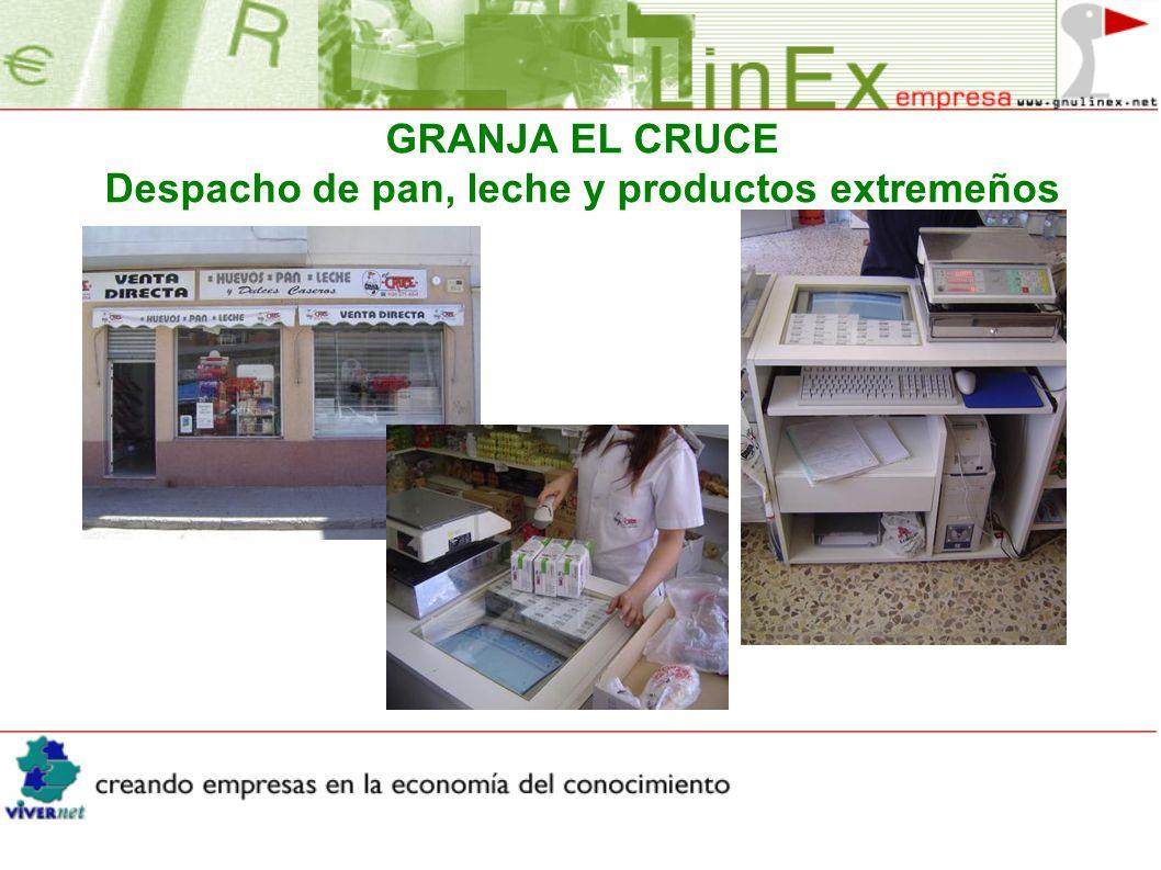 GRANJA EL CRUCE Despacho de pan, leche y productos extremeños