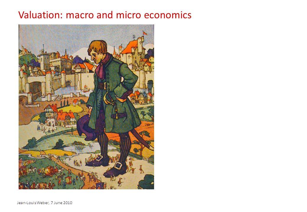 Valuation: macro and micro economics
